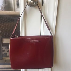 Rare vintage Kate Spade cranberry purse